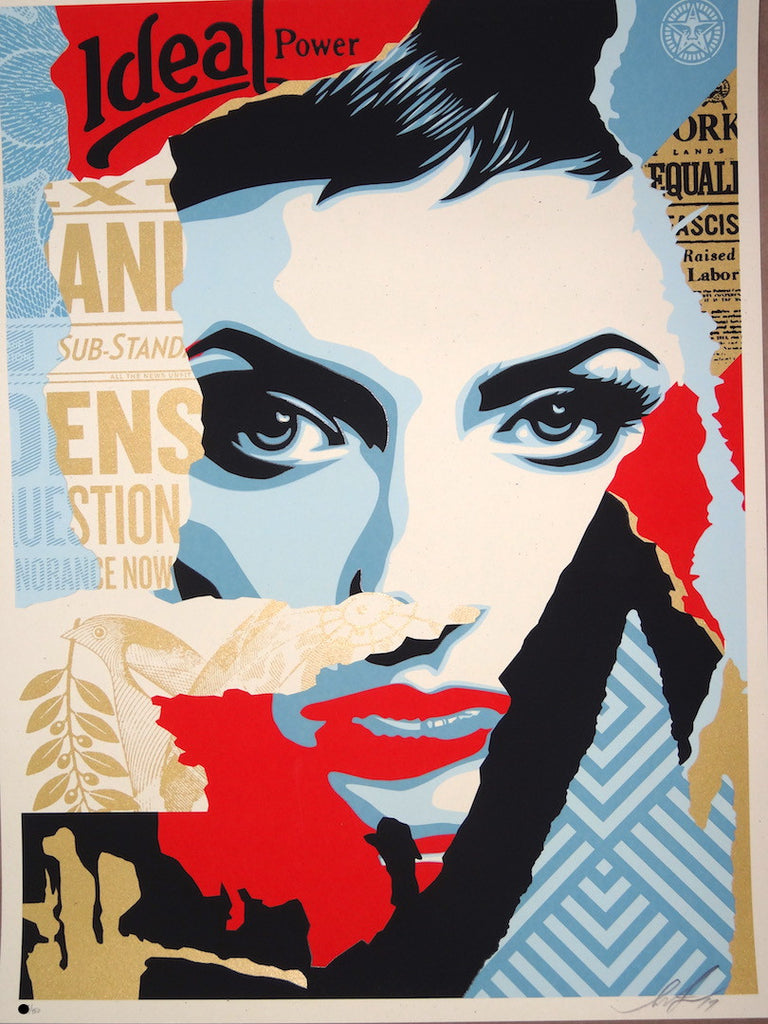 Shepard Fairey - Ideal Power