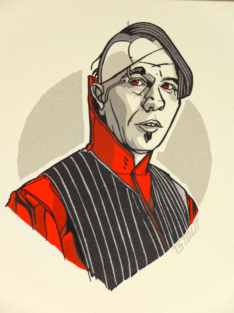 Tyler Stout - Zorg (Fifth Element Handbill)