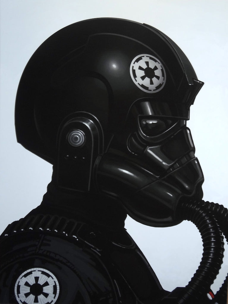 Mike Mitchell - Tie Fighter Pilot (Portrait)