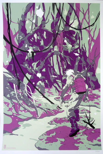 Tomer Hanuka - Star Wars (Encounter at Dagobah)