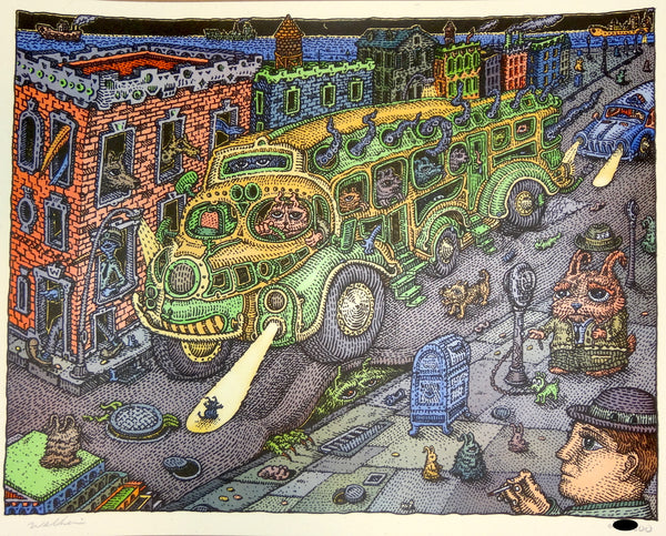 David Welker - Sunset Bus