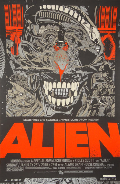 Tyler Stout - Alien (Signed)