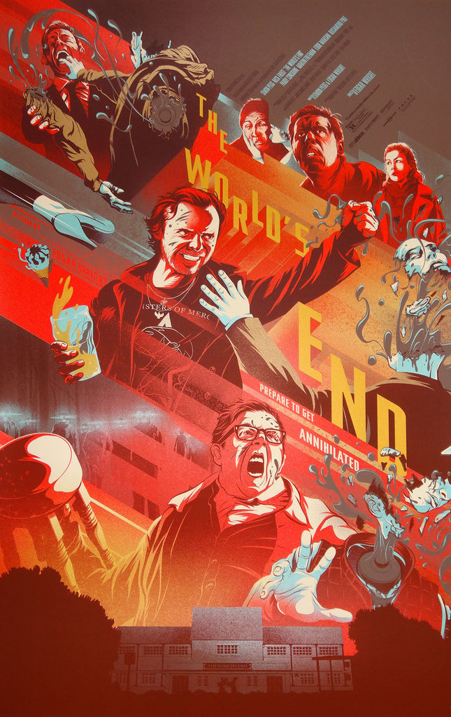 Kevin Tong - The World's End (Variant)