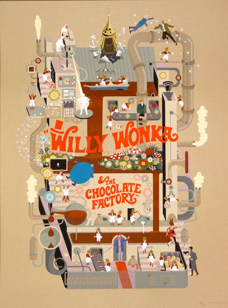 Adam Simpson - Willy Wonka and the Chocolate Factory