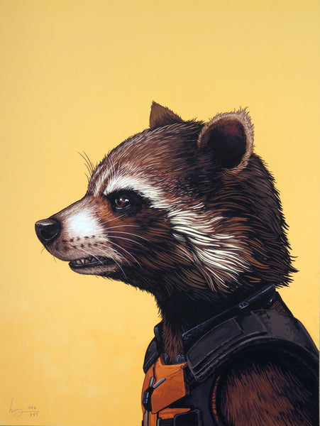 Mike Mitchell - Rocket Racoon (Portrait)