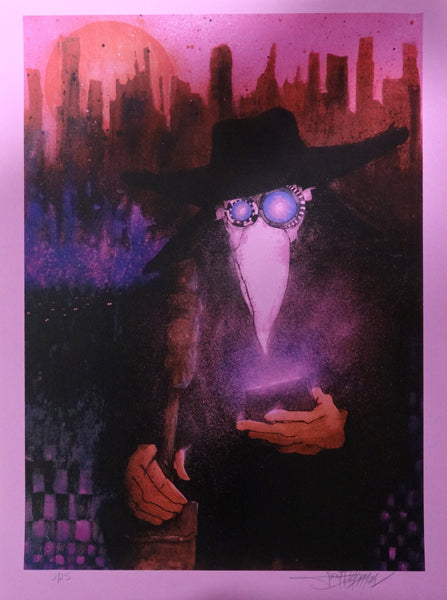Joey Feldman - The Modern Day Plague Doctor (Magenta Variant)