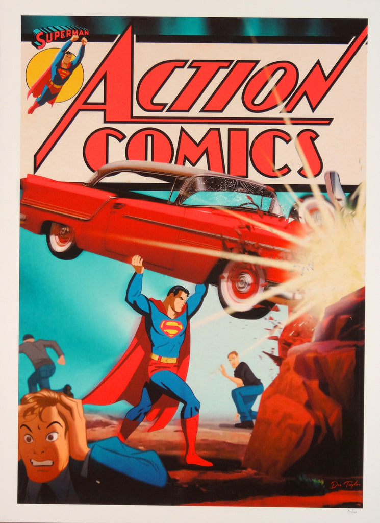 Des Taylor - Action Comics #1
