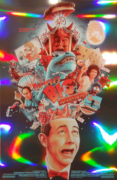 Matt Ryan Tobin - Pee-Wee's Big Adventure (Foil Variant)