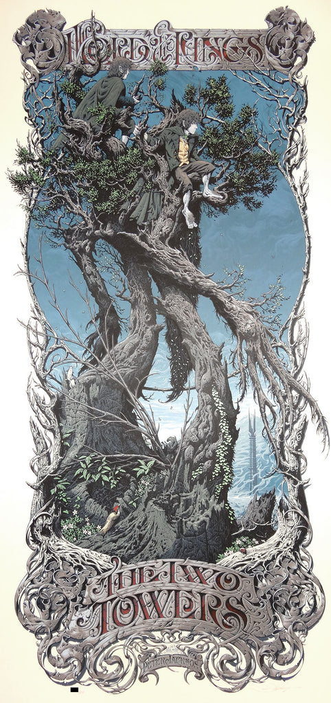 Aaron Horkey - Two Towers