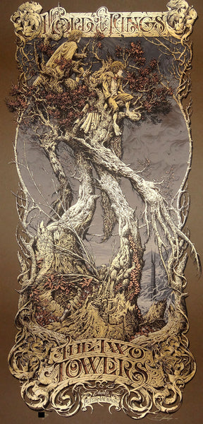 Aaron Horkey - Two Towers (Variant)