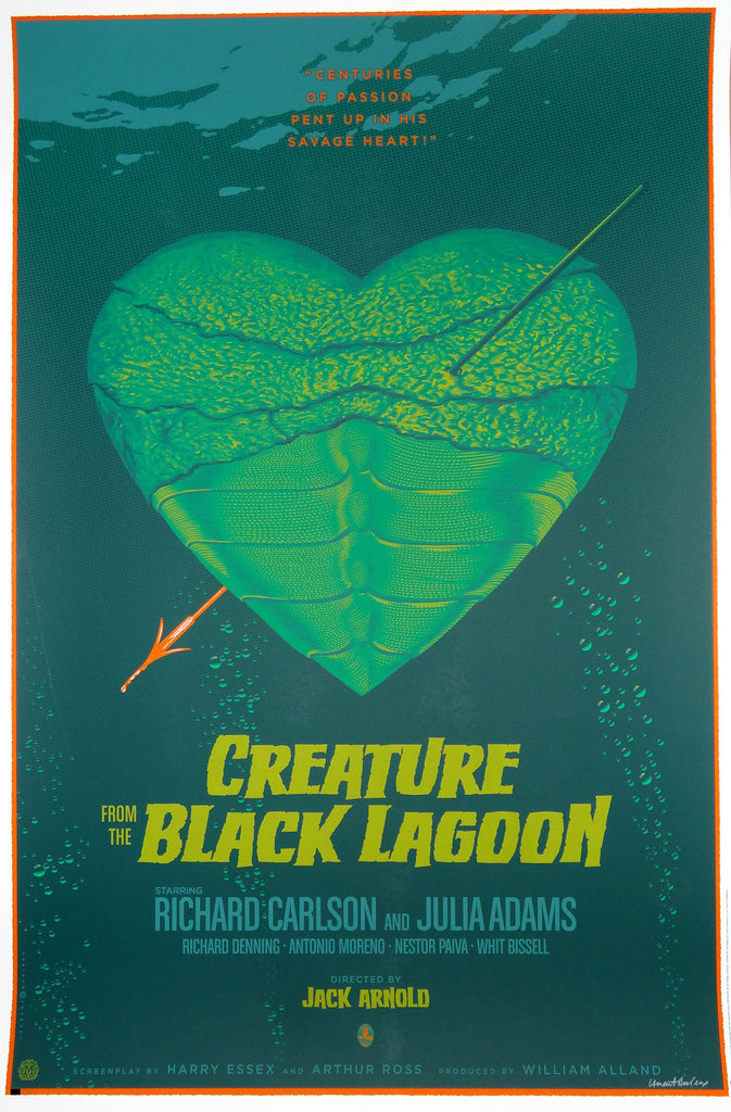 Laurent Durieux - Creature from the Black Lagoon