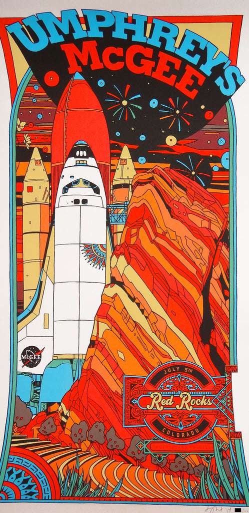 Tyler Stout - Umphrey's McGee Red Rocks