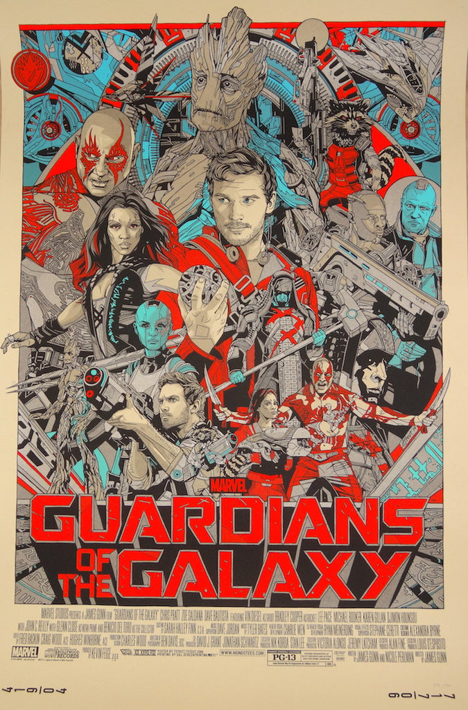 Tyler Stout - Guardians of the Galaxy