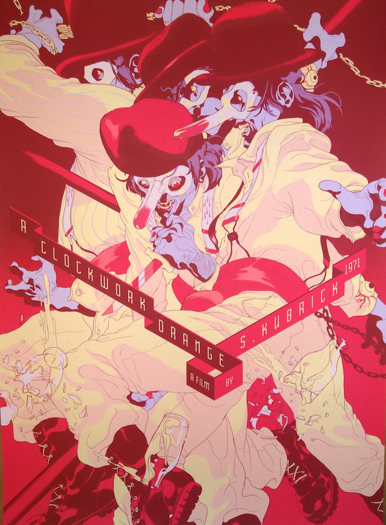 Tomer Hanuka - A Clockwork Orange