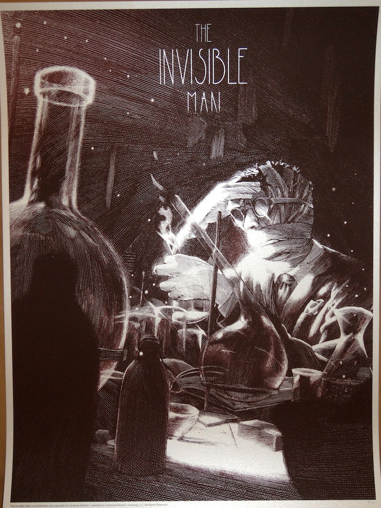 Nicolas Delort - The Invisible Man Variant