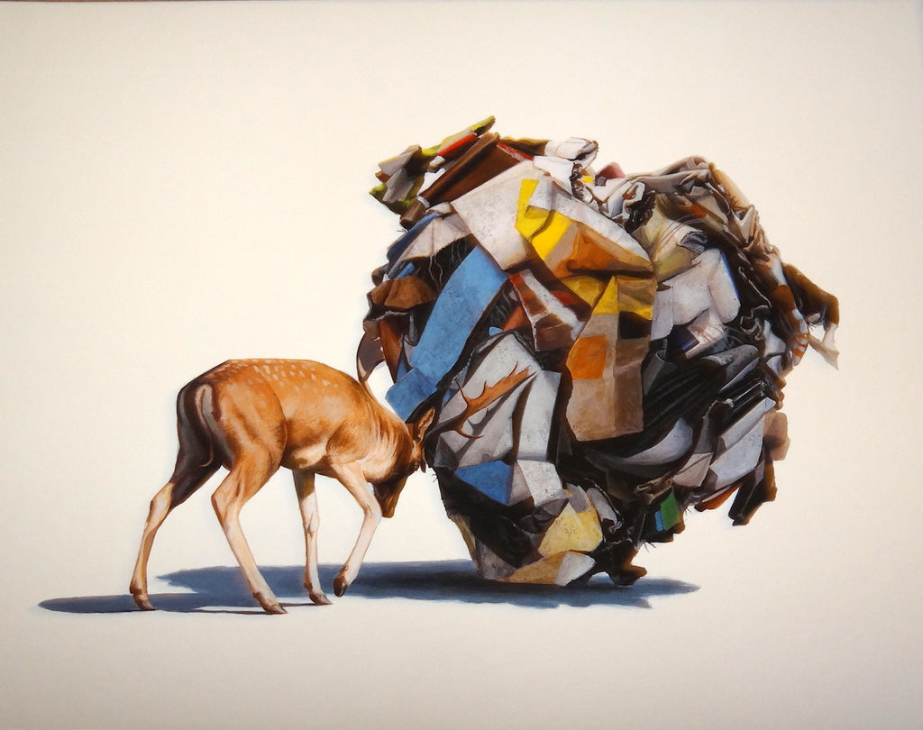 Josh Keyes - The Cleaner (Tiny Showcase Edition)