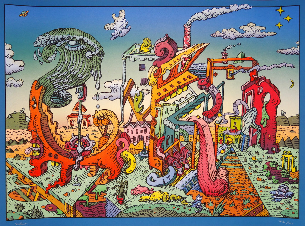 David Welker - Letters on Vacation