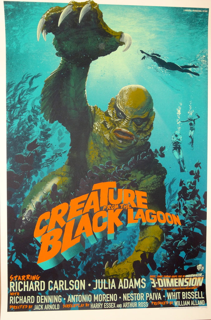 Stan and Vince - Creature from the Black Lagoon