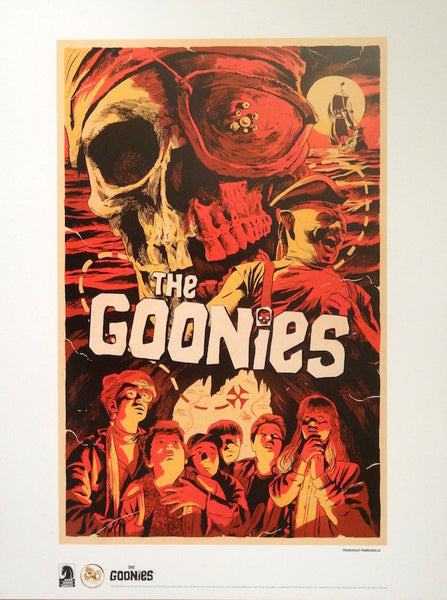 Francesco Francavilla - The Goonies (With Program)