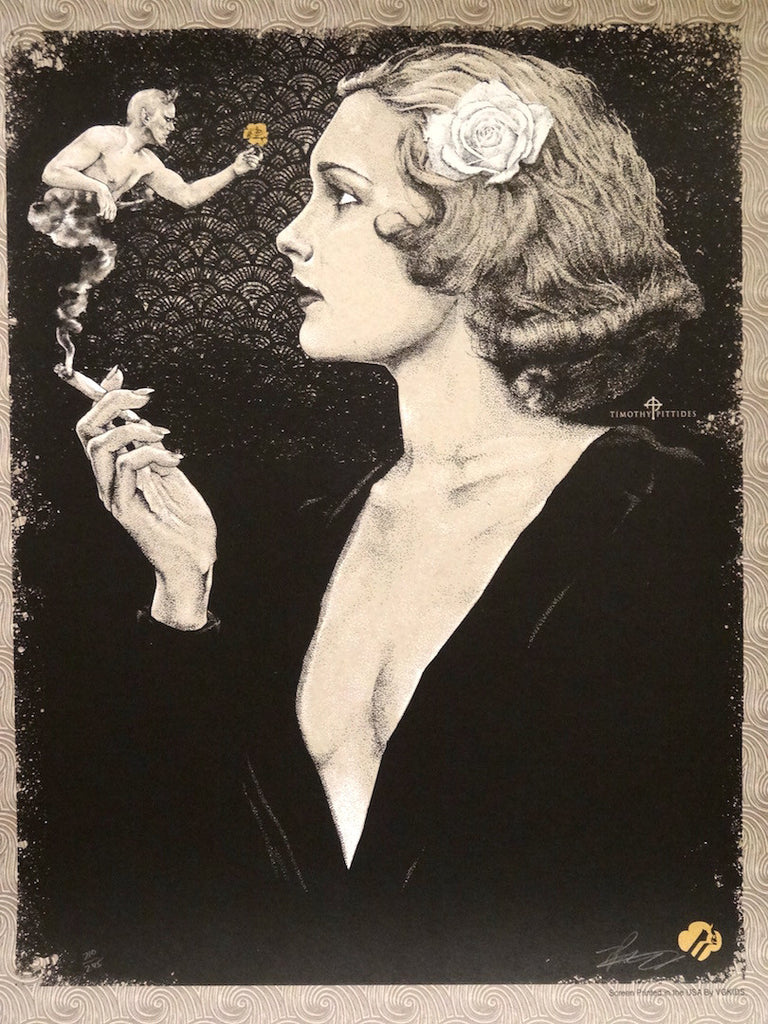 Timothy Pittides - She Should Have Said No (Reefer Madness Art Print)