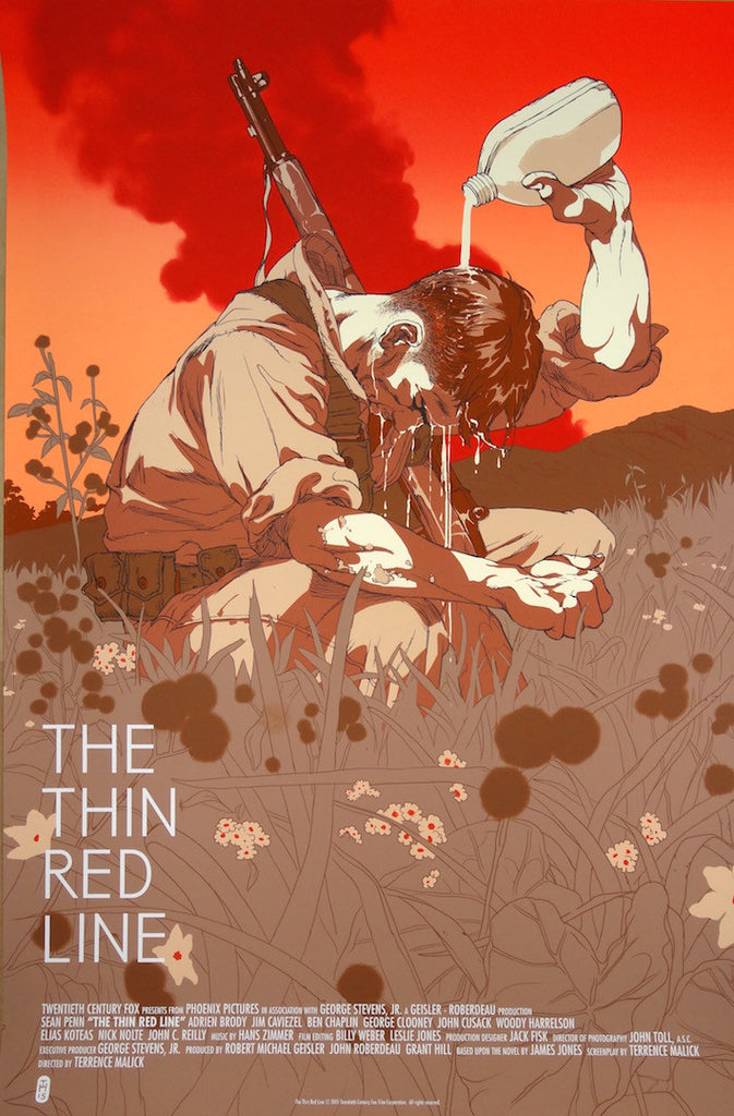 Tomer Hanuka - The Thin Red Line Variant (AP)