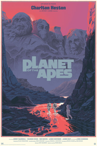 Laurent Durieux - Planet of the Apes Variant (PRESALE)