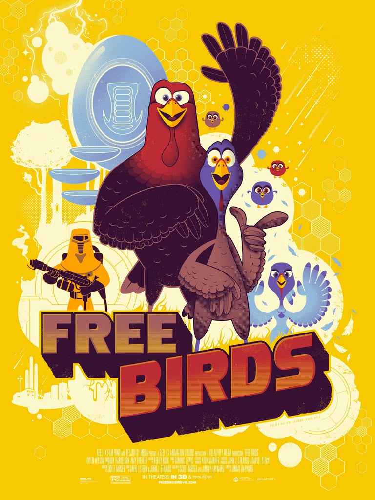 Graham Erwin - Free Birds