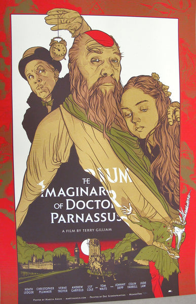 Martin Ansin - Imaginarium of Doctor Parnassus