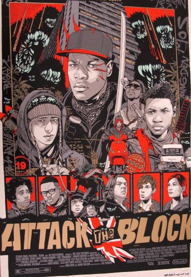 Tyler Stout - Attack the Block (Variant)