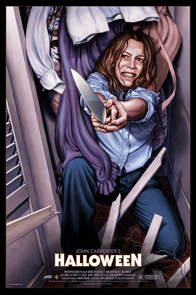 Jason Edmiston - Halloween Variant  (Laurie Version) (PRESALE)