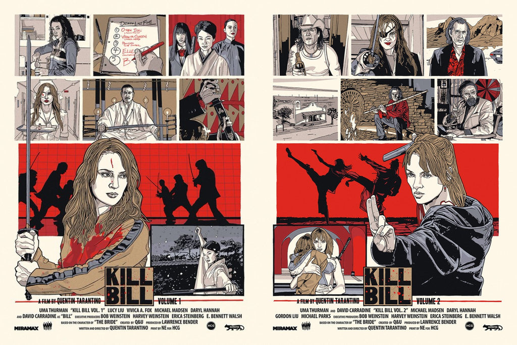 N.E. (New Flesh) - Kill Bill Set