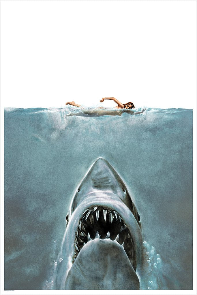 "Roger Kastel - Jaws ""The Shark"" (Presale)"