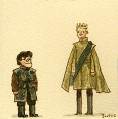Scott Campbell (Scott C.) - Game of Thrones (Tyrion vs Joffrey)