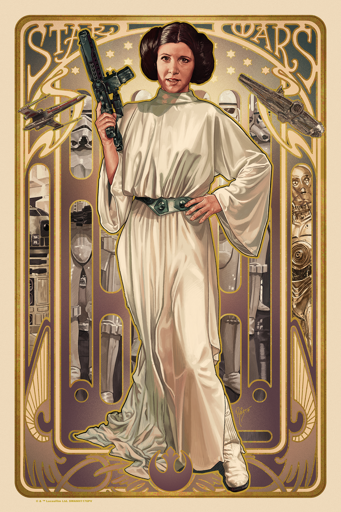 Juan Carlos Ruiz Burgos  - Star Wars: Princess Leia Organa (Without Hood)