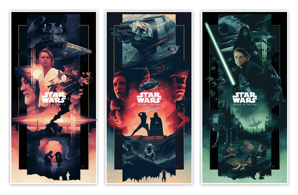 John Guydo - Star Wars Trilogy Set