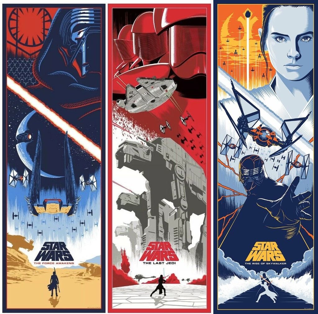 Eric Tan - Star Wars Sequel Trilogy (Presale)
