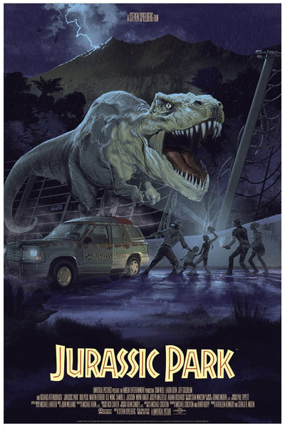 Stan and Vince - Jurassic Park (Pre-Sale)