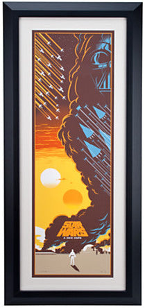 Eric Tan - Star Wars (Framed)