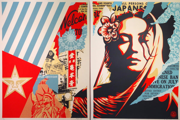 Shepard Fairey - Welcome Visitor Set