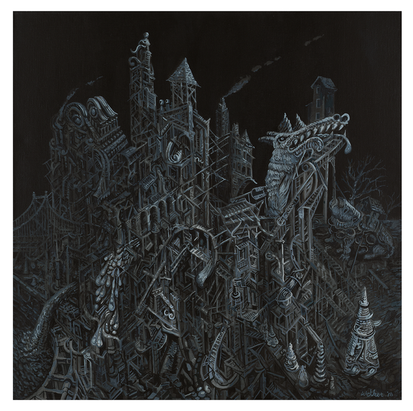 David Welker - Backyard City (Presale)