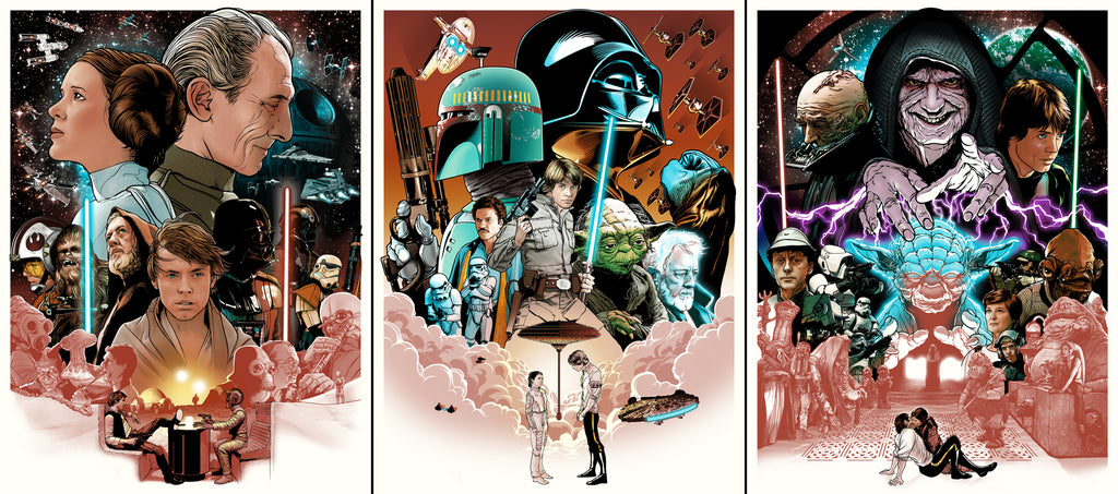 Joshua Budich - Star Wars Trilogy Set