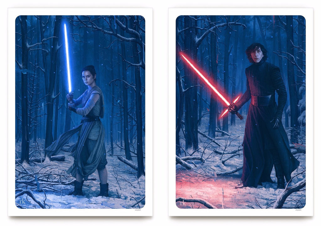 Rory Kurtz - Rey and Kylo Ren Set