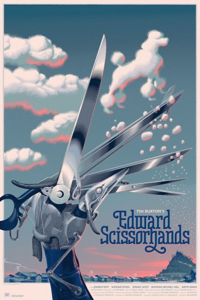 Laurent Durieux - Edward Scissorhands Poodle Variant