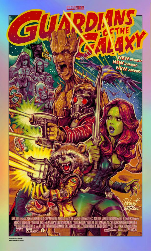 Rockin Jelly Bean (RJB) - Guardians of the Galaxy (Foil Variant) (PRESALE)