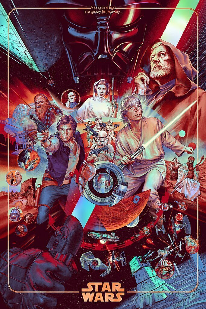 Martin Ansin - Star Wars Foil Variant (Pre-Sale) (Expected to Ship Oct 2020)