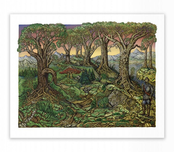 David Welker - All that Lay Between Him Sunset Variant (Pre-Sale)