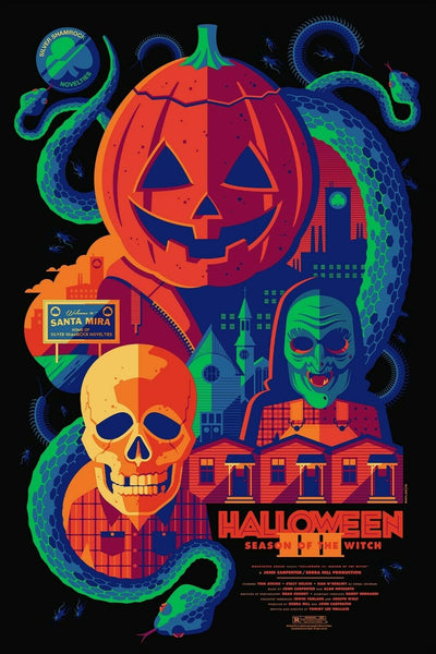 Tom Whalen - Halloween 3: Season of the Witch Variant (Pre-Sale)