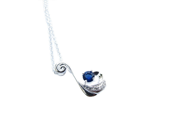 Blue Eye of Aragon Pendant