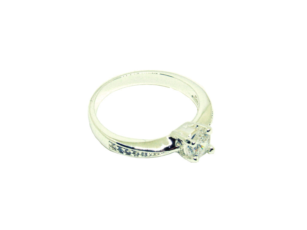 Silver Tower Ring