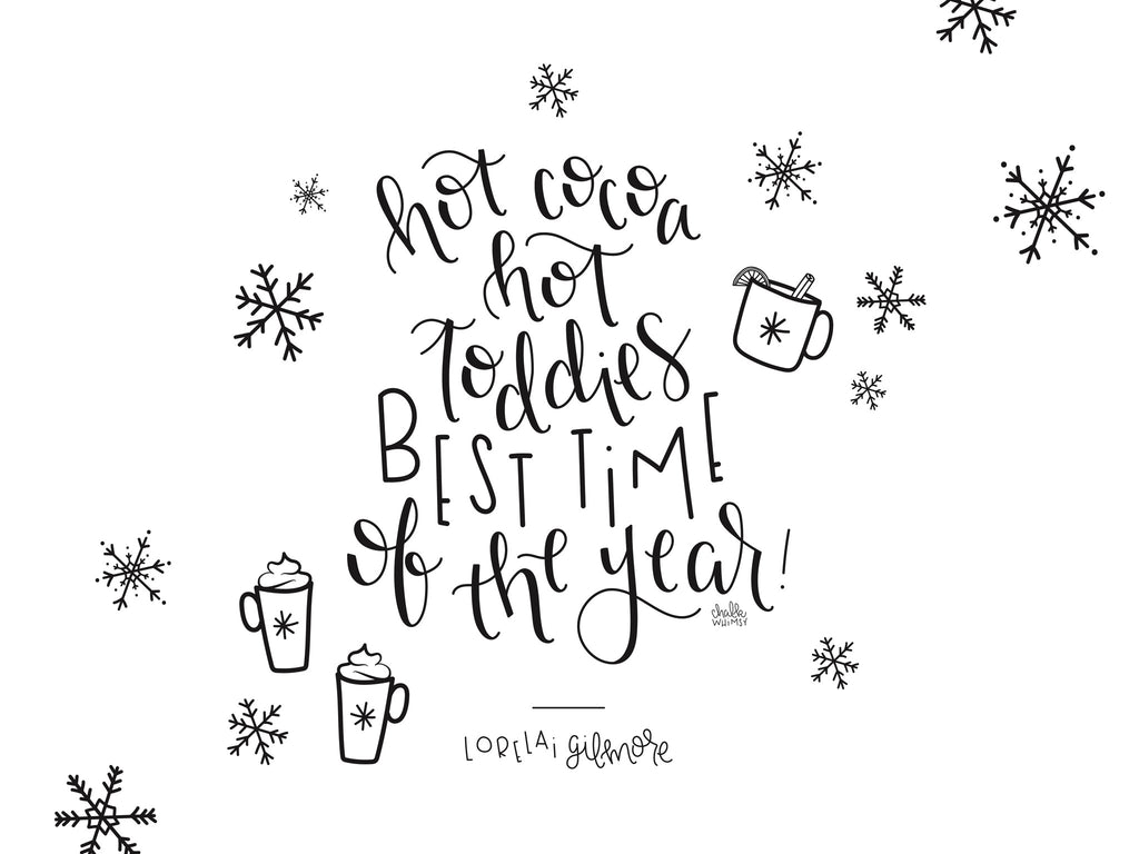 december desktop & iphone wallpaper – chalkwhimsy